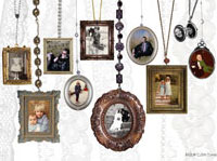 Collage Vintage Frames
