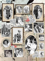Photo collage Nostalgic Frames